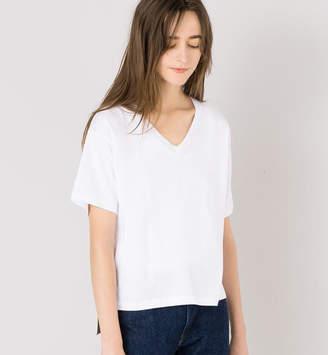 BSHOP (ビショップ) - ビショップ 【handvaerk】VネックTシャツ WOMEN