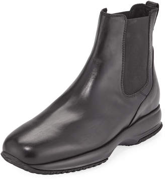 Hogan Men's Leather Pull-On Boots