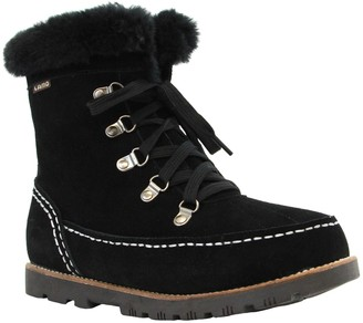 Lamo Suede Lace-Up Boots - Taylor