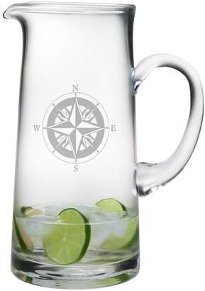 Susquehanna Glass Co. Compass Tankard Pitcher