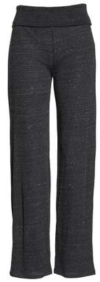 Alternative Eco Fold-Over Waist Lounge Pants