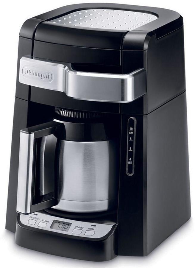 De'Longhi DeLonghi 10-Cup Drip Coffee Maker with Front Access