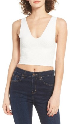 Women's Leith Ottoman Ribbed Tank $45 thestylecure.com