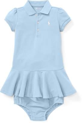 Ralph Lauren Pique Polo Dress & Bloomer