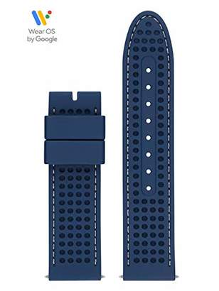 GUESS CS1002S6 22mm Silicone Blue Watch Strap
