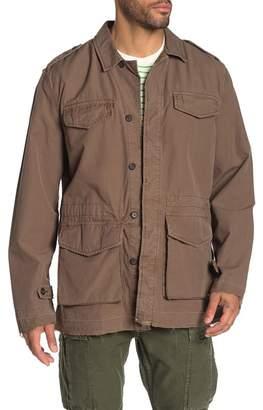 Frame Woven Field Jacket