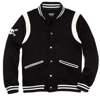 Hudson Boys' Baseball Jacket, Big Kid - 100% Exclusive