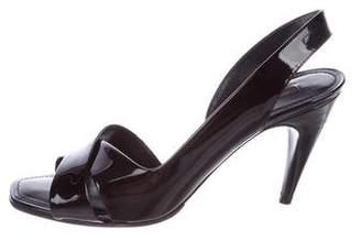 Louis Vuitton Santa Barbara Patent Leather Sandals
