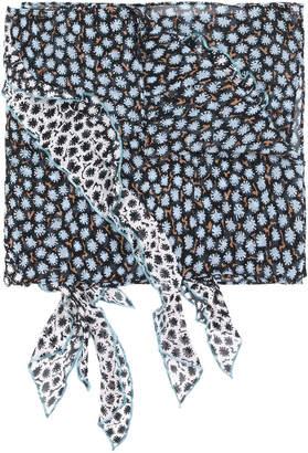 Schumacher Dorothee floral scarf