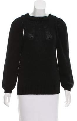 Soyer Draped Cutout Sweater