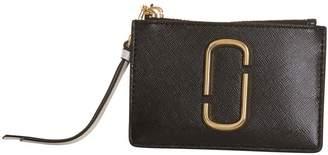 Marc Jacobs Snapshot Top Zip Multi Wallet In Black