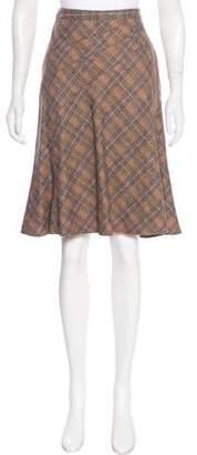 Etro Knee-Length Wool Skirt