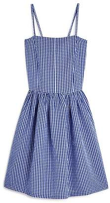 Aqua Girls' Seersucker Dress, Big Kid - 100% Exclusive