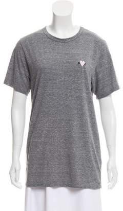 Rodarte Embroidered Short Sleeve T-Shirt