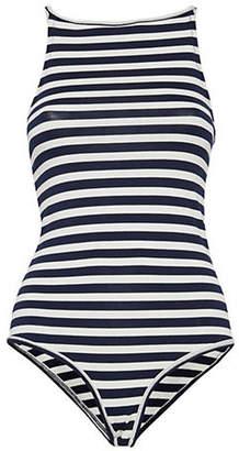 Ichi Alicante Striped Bodysuit