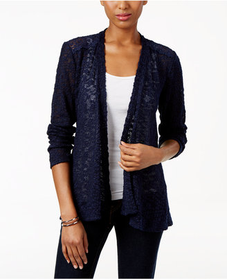 Style & Co. Lace-Trim Cardigan, Only at Macy's $49.50 thestylecure.com