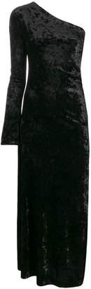 Ssheena single sleeve velvet dress