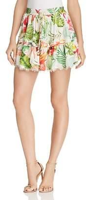 Rococo Sand Floral Mini Skirt