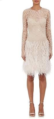 Monique Lhuillier Women's Embellished Shift Dress
