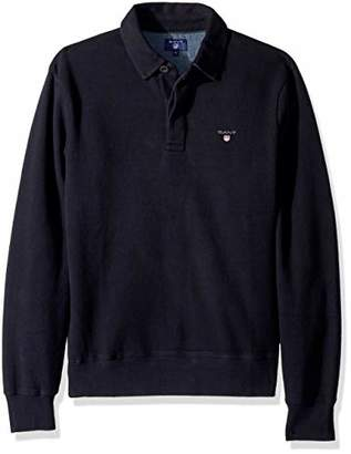 Gant Men's The Sacker Ribbed Polo Sweater
