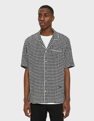 Soulland Brandt Checked Bowling Shirt