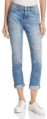 Hudson Riley Relaxed Straight Jeans in Evolution