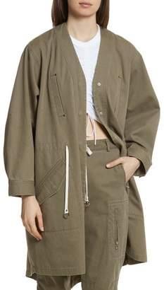 Alexander Wang Longline Twill Jacket