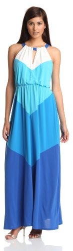 Vince Camuto Women's Colorblock Maxi Dress