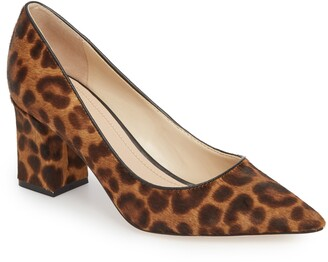 Marc Fisher Zalaly Genuine Calf Hair Pump