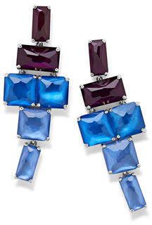 Ippolita Stacked Linear Post Drop Earrings