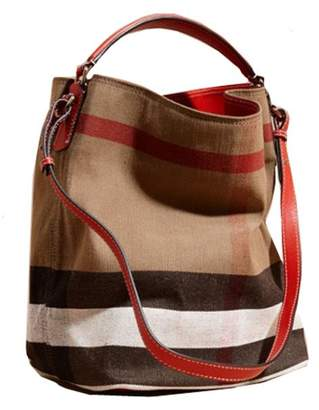 Burberry Alfa lady's Canvas Handbag