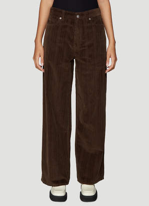 Our Legacy Corduroy Pants in Brown