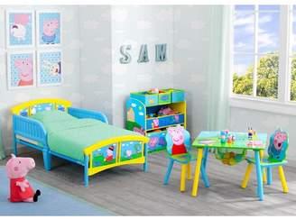 Delta Children Peppa Pig Plastic Toddler Platform Bed