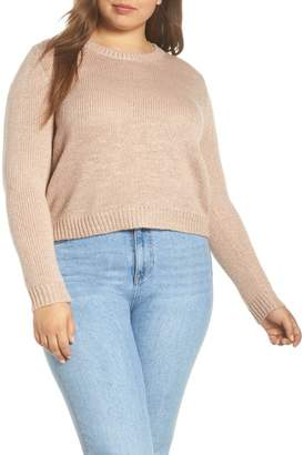 d1bcba01ab6 Metallic Sweater Plus Size - ShopStyle