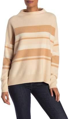 Vince Ombre Stripe Cashmere Pullover