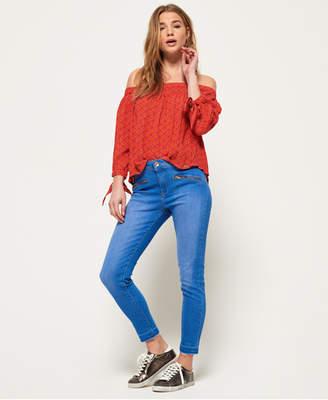 Superdry Elana Skinny Cropped Jeans