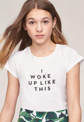 Milly MINIS I WOKE UP LIKE THIS TEE