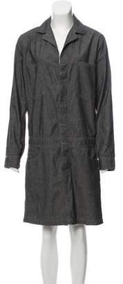 6397 Long Sleeve Shirtdress