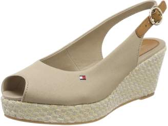 Tommy Hilfiger Women's Shoes Low Wedge Sandals FW0FW02788 068 Iconic ELBA