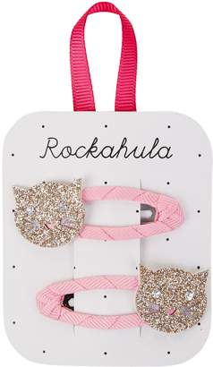 Rockahula Glitter Cat Hair Clips (Pack of 2)