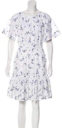 Rebecca Taylor Short Sleeve Knee-Length Dress w/ Tags