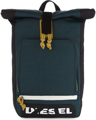 Diesel Embroidered eagle backpack