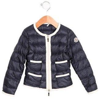 Moncler Boys' Paese Enfant Jacket $245 thestylecure.com