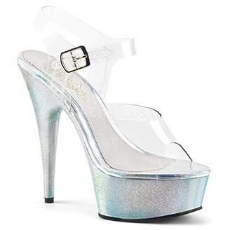 422d1e87b156f9 Pleaser USA Blue Platform Heel Women s Sandals - ShopStyle