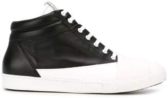 Marni monochrome hi-top sneakers