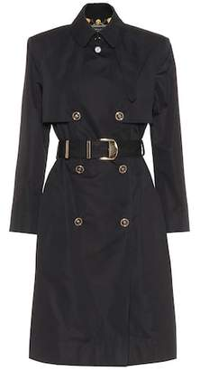 Versace Cotton-blend trench coat