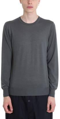 Jil Sander Grey Wool Sweater