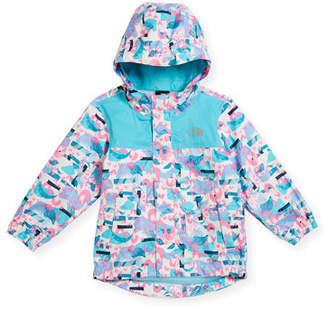 The North Face Tailout Printed Rain Jacket, Multi, Size 2-4T