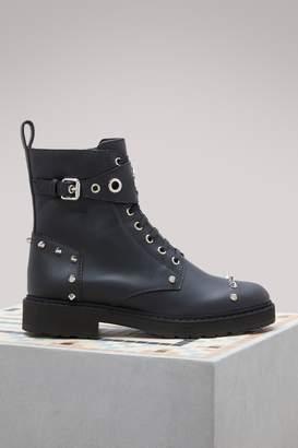 Fendi Biker ankle boots