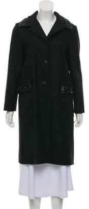 Marni Virgin Wool Bead Coat w/ Tags